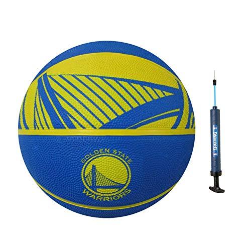 Spalding NBA Golden State Warriors Full Size Basketball + Spalding Pump