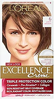 L'Oreal Excellence Creme, Light Brown [6] 1 Each