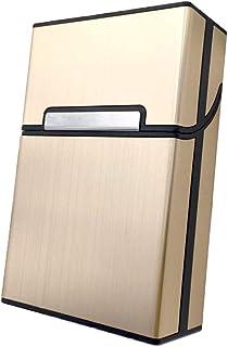Alluminio Coperchio Magnetico Pacchetto, Metallo Porta Sigarette, Sigarette Portasigarette con Chiusura Magnetica, Pocket ...