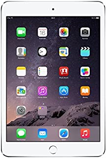 Apple iPad mini 3 MH382LL/A (64GB, Wi-Fi + Cellular, Silver) 2014 Model