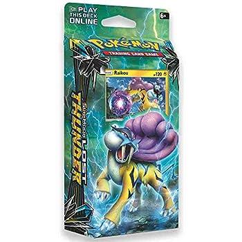 Pokemon TCG  Sun & Moon - Lost Thunder Storm Caller 60-Card Theme Deck Featuring A Holographic Raikou