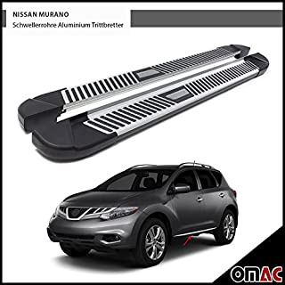 Jeu de marchepieds PYRAMID en aluminium pour Nissan Murano Z51 2007 173