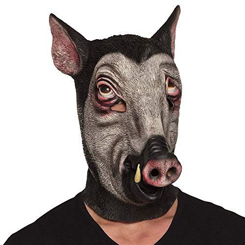 Boland 10117837 Latexmaske, unisex-adult, Wildschwein, One Size