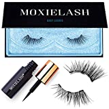 MoxieLash Baby Kit - Mini Magnetic Liquid Eyeliner for Magnetic Eyelashes - No Glue & Mess Free - Fast & Easy Application - Set of Baby Lashes & Instructions Included