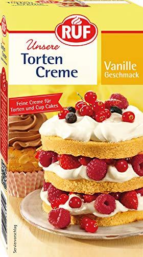 RUF Torten Creme Vanille, 6er Pack (6 x 100 g)