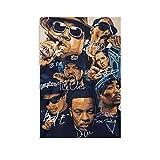 Hip-Hop Biggie Snoop Dogg Poster auf Leinwand, Wandkunst,
