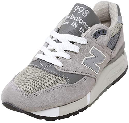 New Balance Womens 998 Classic Training ABZORB Running Shoes Gray 8 Medium (B,M)