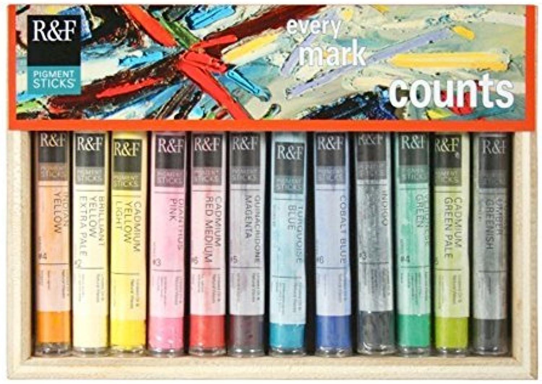 primera reputación de los clientes primero R&F - Juego de pinturas hechas a mano para pintar, pintar, pintar, Diseño de docenas  productos creativos
