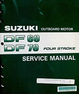 Suzuki Outboard (99500-99E03-01E) Genuine OEM Service Manual 4-Stroke 60-70 hp. 1998 thru 2002
