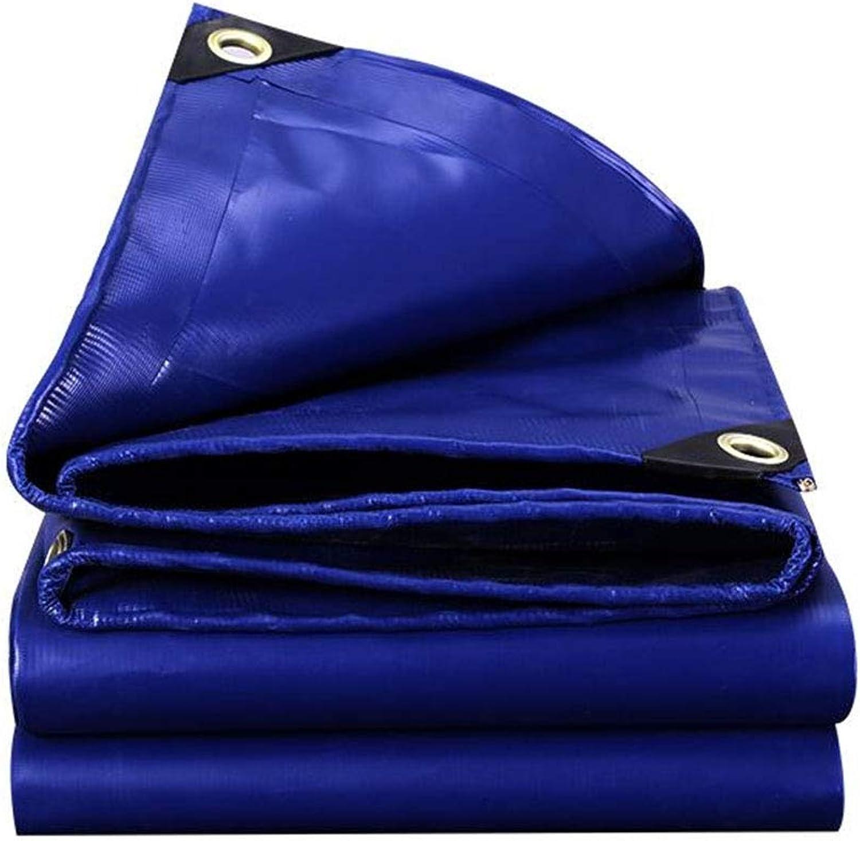 YX-Planen Reversible Wasserdichte PVC-Plane Multi-Purpose 100% UV-geschützt - Blauer Sonnenschutzplanen-Planenbezug mit hoher Dichte - Dicke 0,45 mm, 550 g m2