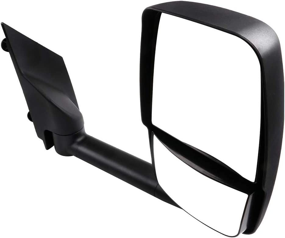SCITOO Side View Mirror Passenger Side Mirror Fit Compatible with 2003-2011 Chevrolet Express 1500//2500//3500 2003-2011 Gmc Savana 1500//2500//3500 Manual Folding Non-Heated GM1321426