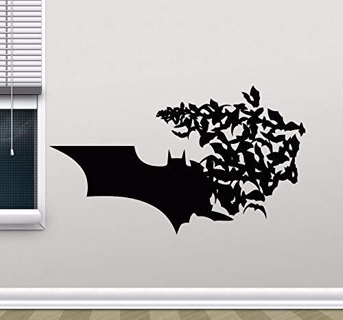 Pegatinas de pared para azulejos de cocina, diseño de habitación Fondo de pared Niños Familia Decoración extraíble Arte de vinilo Dormitorio Arte Decoración Papel pintado romántico Living 57x33cm