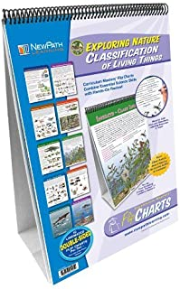 NewPath Learning 10 Piece Classification of Living Things Curriculum Mastery Flip Chart Set, Grade 5-10 [並行輸入品]