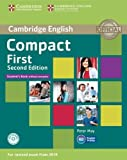 Compact First Student's Book without Answers with CD-ROM Second Edition