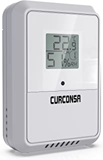 Binnen- en buitentemperatuur- en vochtigheidssensor, draadloze thermo-hygrometer FT016TH voor weerstations.