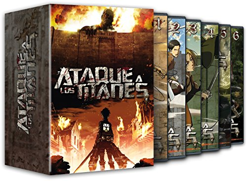 Ataque A Los Titanes Temporada 1 [DVD]