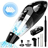 VacLife Handheld Vacuum Cordless, Hand Vacuum Cordless with High Power, Portable Vacuum Cleaner Powered by Li-ion Battery Rechargeable Quick Charge Tech, for Home and Car Cleaning, Black & Sliver