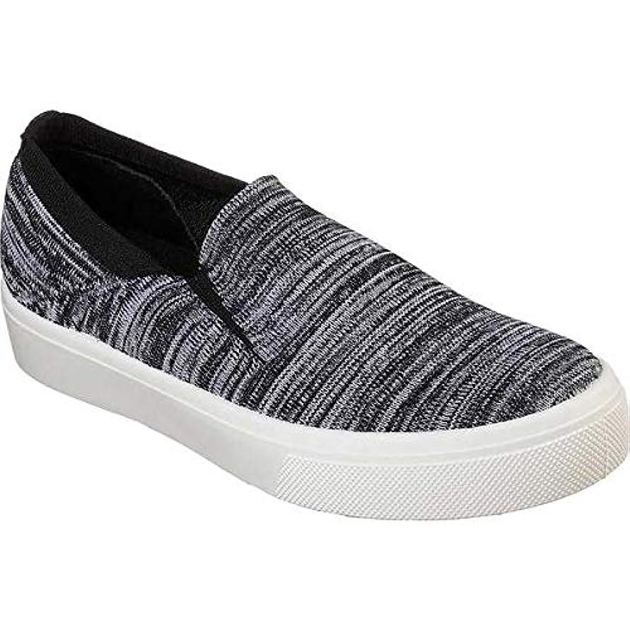 熱心な組糞[スケッチャーズ] レディース スニーカー Poppy Blurred Lines Slip-On Sneaker [並行輸入品]