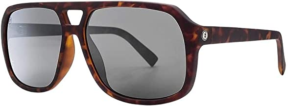 Electric Dude Sunglasses Matte Tortoise with Ohm Grey Chrome Lens