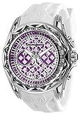 Technomarine Men's Technocell Stainless Steel Quartz Watch with Silicone Strap, White, 22 (Model: TM-318029)