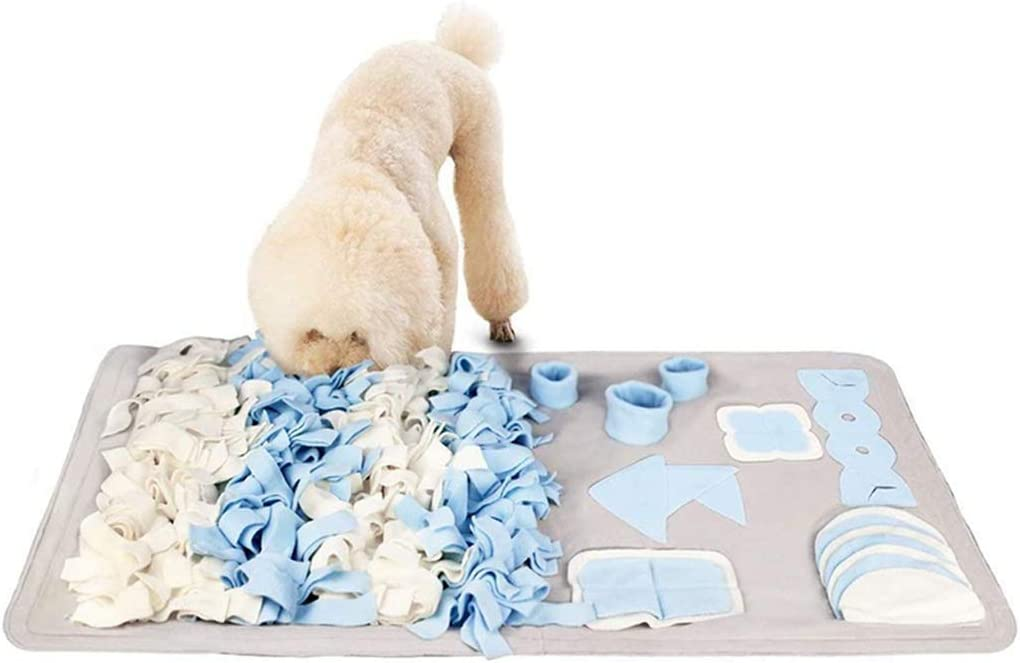 FEGOCLT Durable Snuffle Mat Toys Excellence for F Large Small Nosework Dogs Excellent