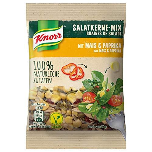 Knorr Salatkerne-Mix mit Mais und Paprika 30g Beutel, 6er Pack (6 x 30)