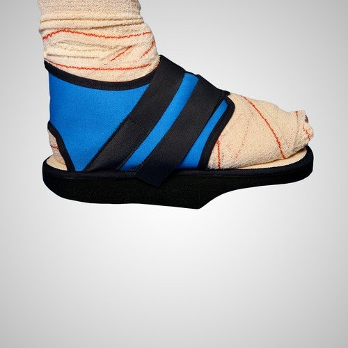 Zapato posquirúrgico en Talo con velcro diferentes tallas Emo talla l (38-44) ⭐