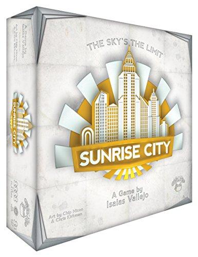 Game Salute 331495 Sunrise City Brettspiel, Mehrfarbig