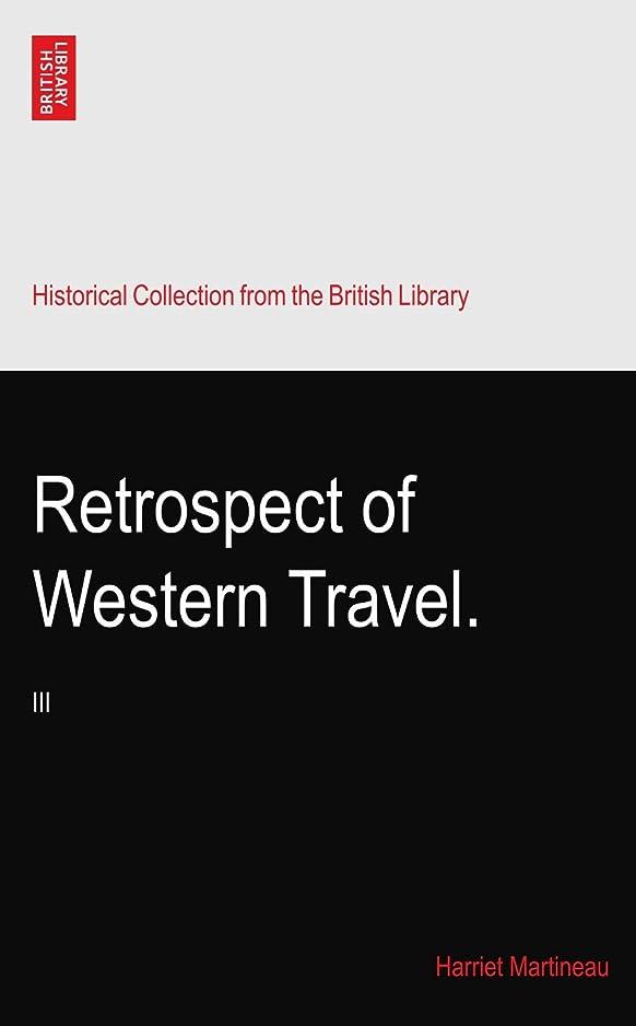 古くなったナイトスポット酸化物Retrospect of Western Travel.: III