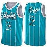 HǒRNěts Ball # 2 Jersey para Hombres, 90s Hip Hop Ropa Poliéster Malla Transpirable Sudor Quick Seco Baloncesto Uniformes (S-XXL) L