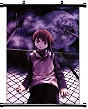 Serial Experiments Lain Anime Fabric Wall Scroll Poster (16x23) Inches.[WP]- Serial- 17