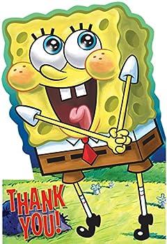 8 SpongeBob Squarepants Thank You Notes