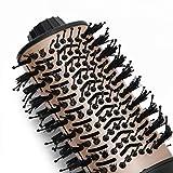 Cepillo para rizar el cabello Cepillo para secador de cabello Peine para rizar el cabello profesional para cabello largo para salón para el hogar para el hogar(pink)
