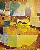 1art1 60509 Paul Klee - Zwei Kamele Und EIN Esel, 1919