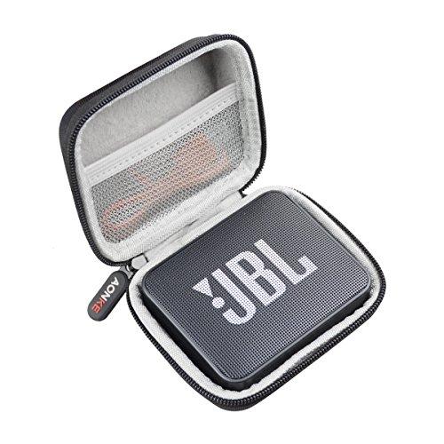 Duro Estuche Viajes Funda Bolso para JBL GO2 K951512 - Altavoz inalámbrico con Bluetooth by AONKE