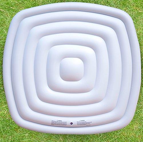 MSpa Bladder Whirlpool-Wärmespeicher und Regenablaufblase, quadratisch, passend 6 Personen, Square Spa Alpine/Tekapo/Soho/Bliss/Lite, weiß, 185cm x 185cm