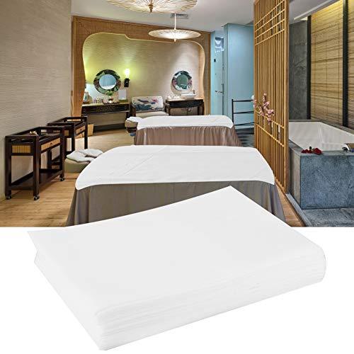 Einwegblätter, wasserdichte ölbeständige Bettdecke für Salon SPA Tattoo Massage Tisch Hotels für Salon SPA Tattoo Massage Tisch Hotels(Weiß)
