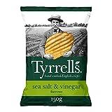 Tyrrells Sea Salz und Essig Kartoffelchips 150g (12Stück)
