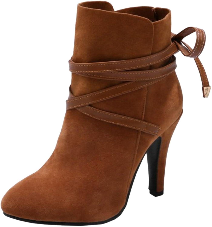 CarziCuzin Women Fashion Boots High Heel