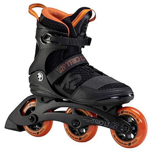 K2 Inline Skates TRIO LT 100 M Für Herren Mit K2 Softboot, Black - Orange, 30F0129