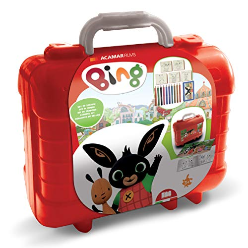 Multiprint- Set Timbri Bambi, Multicolore, 42993