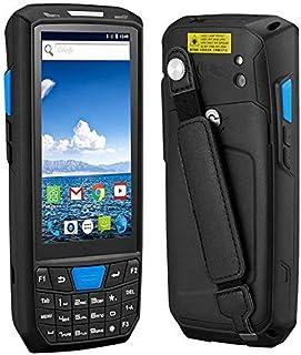 شاشة LCD تعمل باللمس المحمولة البيانات PDA طرف جامع لاسلكي 1D 2D QR قارئ باركود يدعم بلوتوث واي فاي GPS 4G Android 8.0 الم...