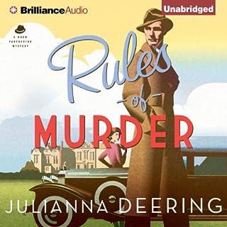 Rules of Murder audiobook cover art