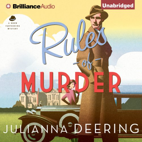 Rules of Murder     Drew Farthering, Book 1              By:                                                                                                                                 Julianna Deering                               Narrated by:                                                                                                                                 Simon Vance                      Length: 8 hrs and 30 mins     193 ratings     Overall 3.9