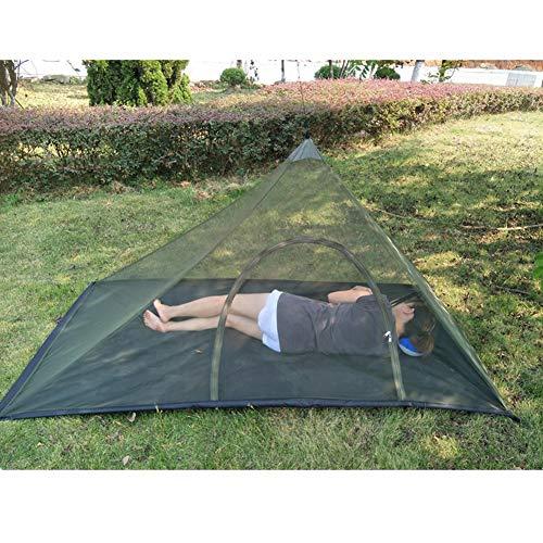 LoiStu Tienda de campaña, Tienda de Dormir de Malla Transpirable antimosquitos 220x120x100cm para 1-2 Personas, con colchoneta de Camping y Bolsa de Almacenamiento