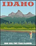 Idaho 2020-2021 Two Year Planner: America the Beautiful | USA State | Road Trip Vacation | Daily Weekly Monthly Calendar Organizer | 2-Year ... To Do Lists and More! (8x10 50 State Planner)