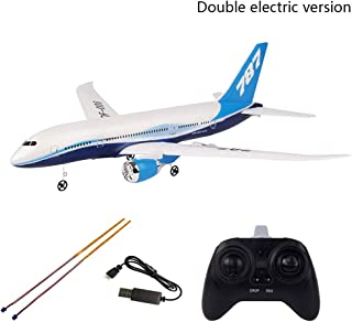 ompait QF008-Boeing 787 550mm Wingspan 2.4GHz 3CH EPP RC Airplane Fixed Wing RTF Scale Aeromodelling - 1pc Battery