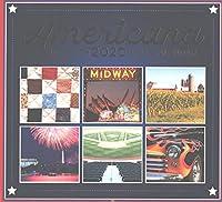 2020 アメリカーナ フルサイズ 壁掛けカレンダー 16か月