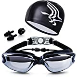 Elimoons Swim Goggles, Pack of 2, Swimming...