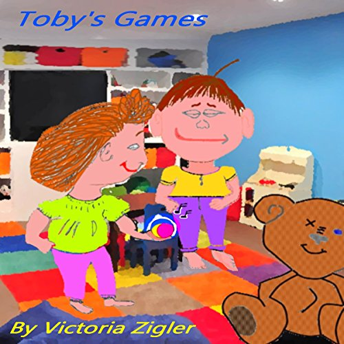 Toby's Games audiobook cover art